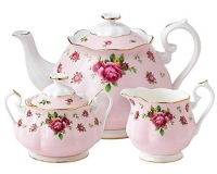 Чайный сервиз Royal Doulton New Country Roses Pink (3 предмета)