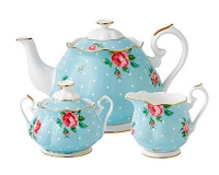 Чайный сервиз Royal Doulton Polka Blue (3 предмета)