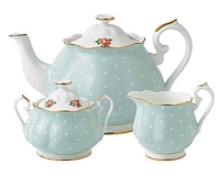 Чайный сервиз Royal Doulton Polka Rose (3 предмета)