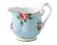 Сливочник Royal Albert Polka Blue Vintage 250мл