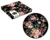 Тарелка Easy Life Blooming Opulence Black 19см