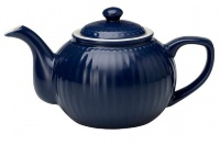 Чайник Greengate Alice dark blue 1л