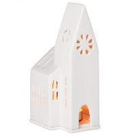 Подсвечник Räder Light house Small church 9х9х18см