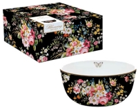 Миска Easy Life Blooming Opulence Black 14см