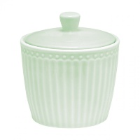 Сахарница Greengate Alice pale green 8,5х8,5х9,5см