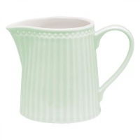 Молочник Greengate Alice pale green 250мл