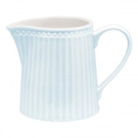 Молочник Greengate Alice pale blue 250мл