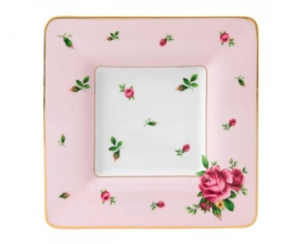 Поднос Royal Doulton New Country Roses Pink квадратный