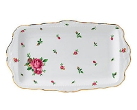 Поднос Royal Albert New Country Roses White Vintage 11см